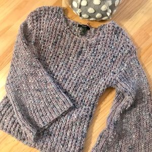 Forever 21 Chunky Lavender Sweater